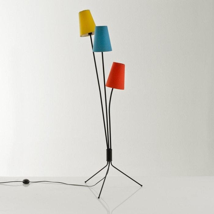 Ongekend Staande lamp in vintage stijl, amaya zwart La Redoute Interieurs YT-23