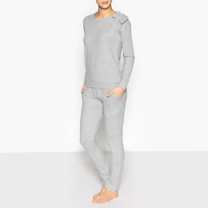 Sweatshirt-Style Pyjamas  La Redoute Collections image 0