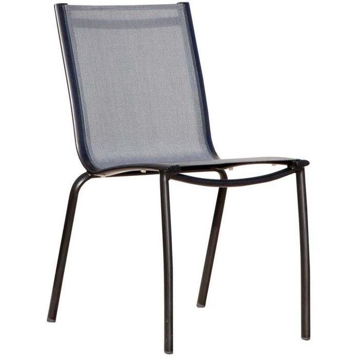 Chaise aluminium textilène linea (lot de 2) Proloisirs | La Redoute