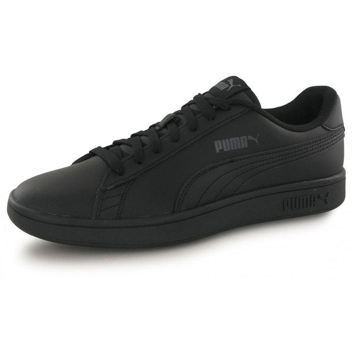sports shoes 74537 7ce34 Baskets smash v2 l noir Puma   La Redoute