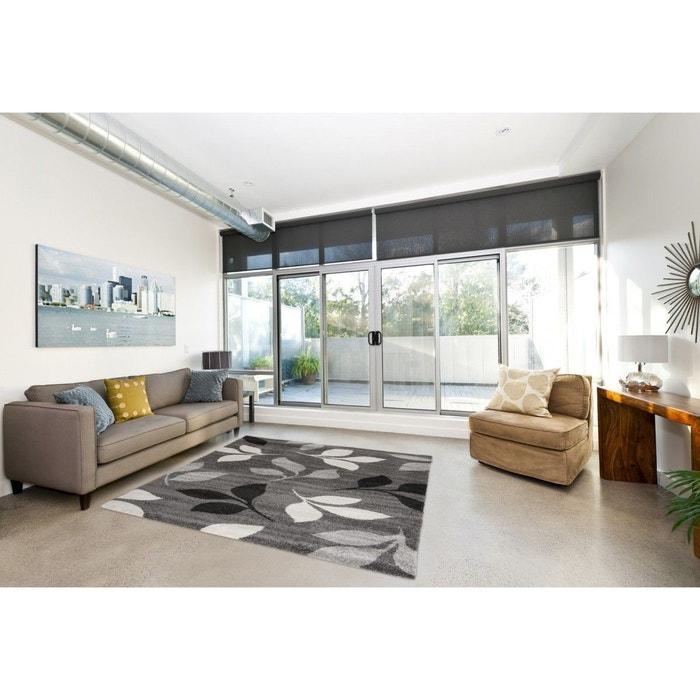 tapis de salon contemporain gris spring gris allotapis la redoute. Black Bedroom Furniture Sets. Home Design Ideas