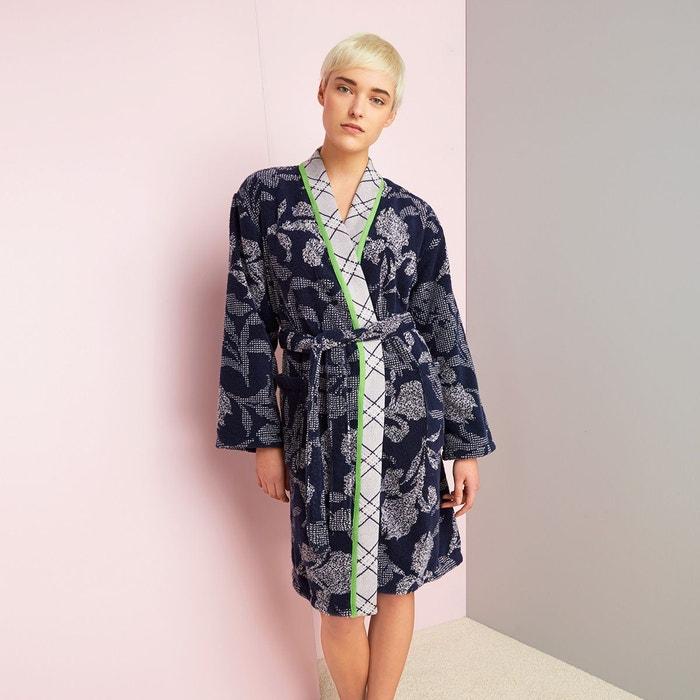 kenzo peignoir kz iris bleu kenzo la redoute. Black Bedroom Furniture Sets. Home Design Ideas