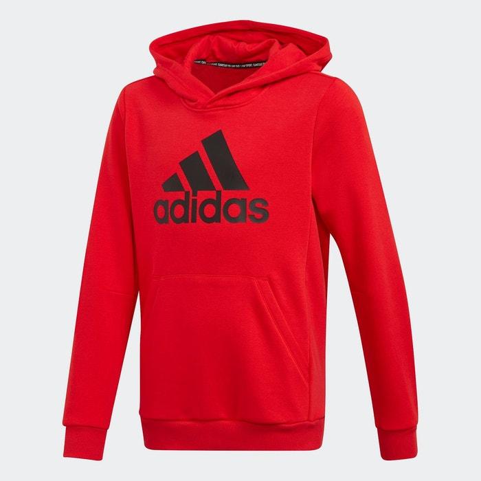 sweat rouge adidas