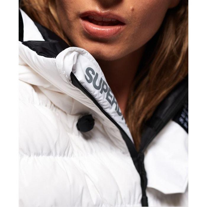 Blouson rembourré sd stealth ski blanc Superdry | La Redoute