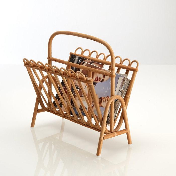 Image Nogu - KOK Rattan Magazine Rack La Redoute Interieurs