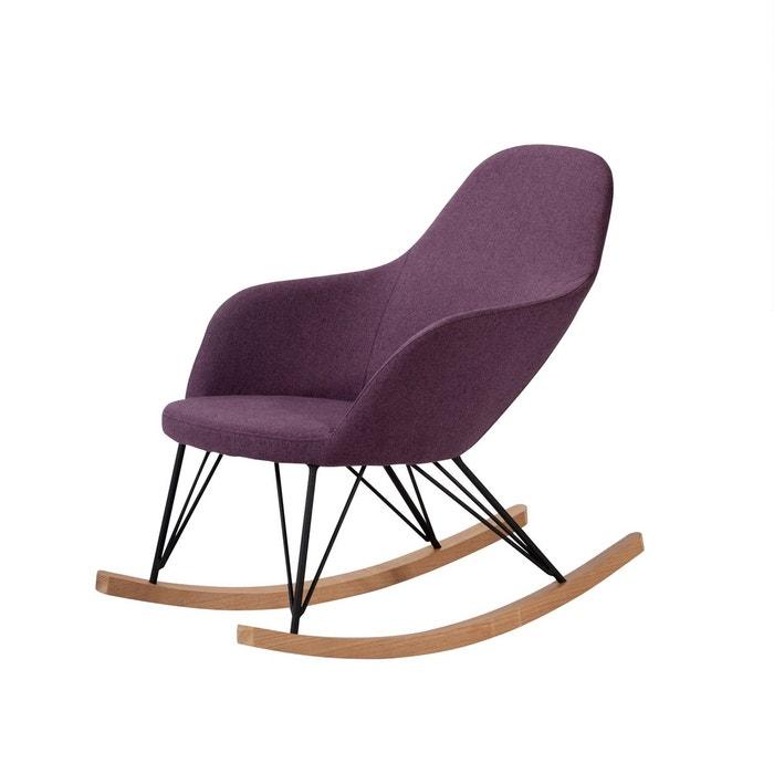 rocking chair malibu violet rendez vous deco la redoute. Black Bedroom Furniture Sets. Home Design Ideas