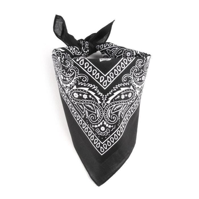 Foulard bandana noir 1c64c230251