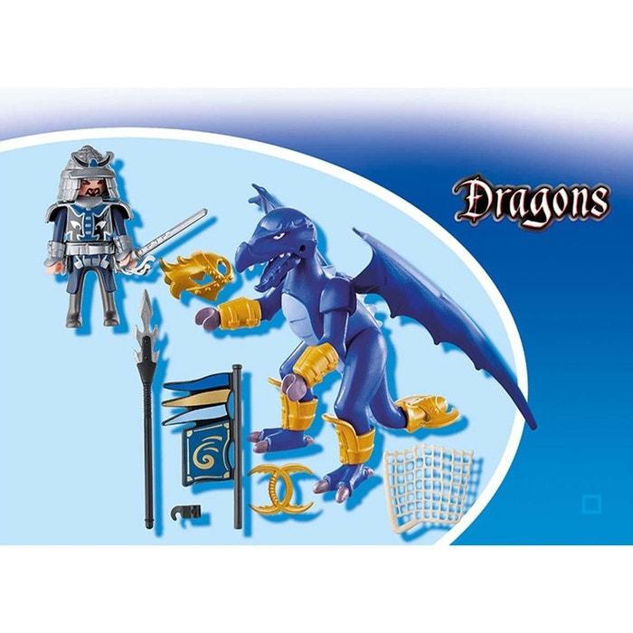 Dragon des glaces avec combattant pla5464 couleur unique playmobil la red - La redoute playmobil ...