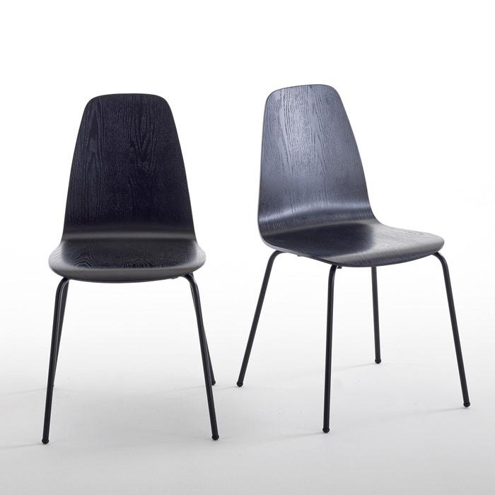 Set of 2 Biface Vintage Chairs  La Redoute Interieurs image 0