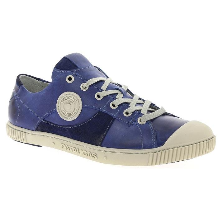 Pataugas BARAK bleu - Livraison Gratuite avec - Chaussures Baskets basses Homme