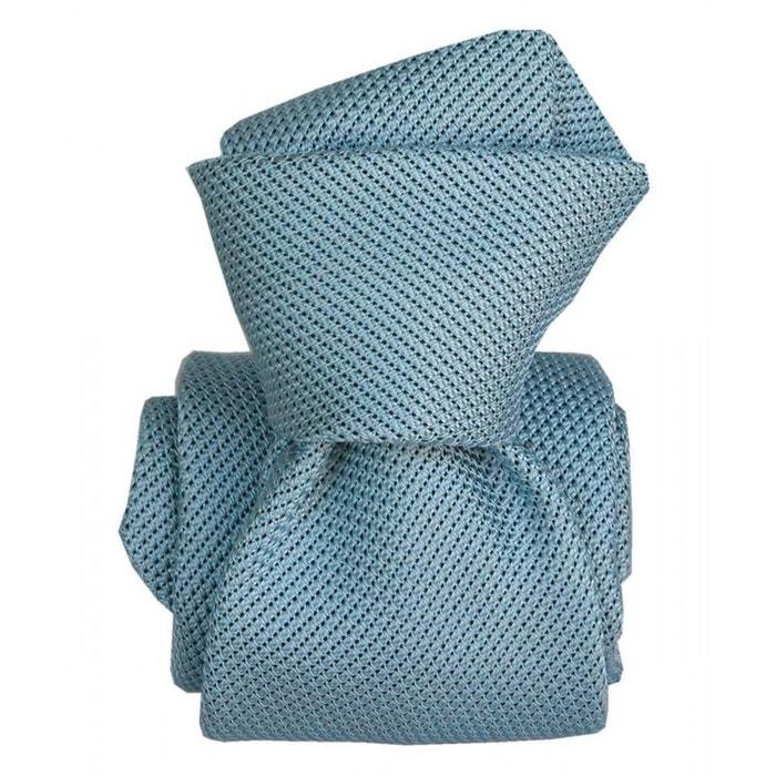 Cravate grenadine de soie, segni & disegni, lucia azur bleu Segni Et Disegni   La Redoute