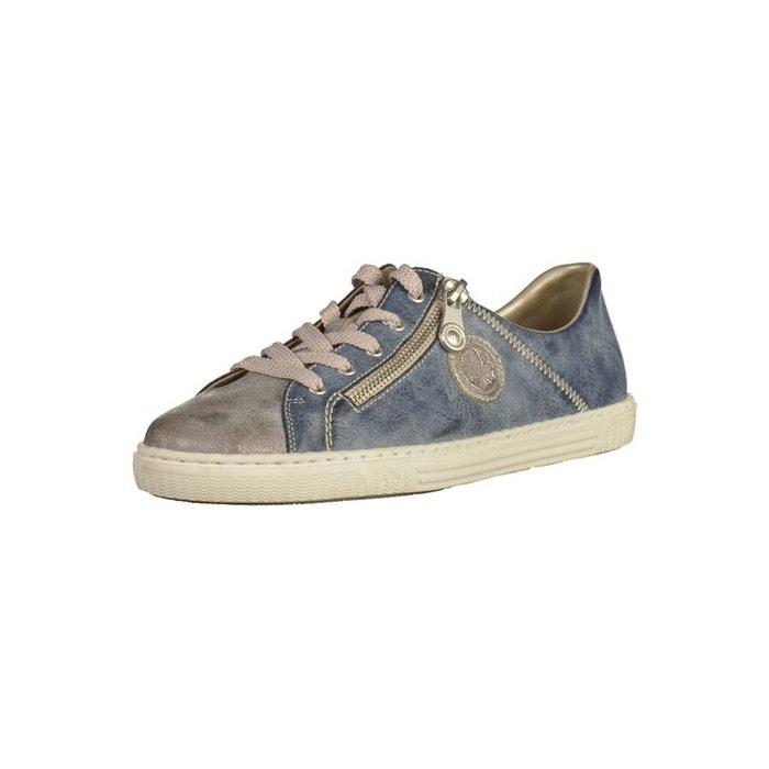 Confortable Vente En Ligne Acheter À La Mode Pas Cher Sneaker bleu Rieker MvkfrV0