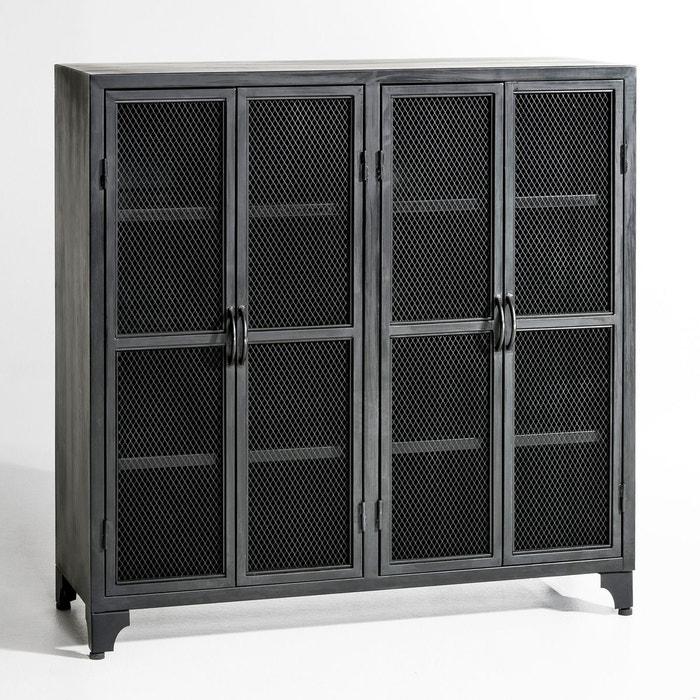 vaisselier m tal kargo am pm la redoute. Black Bedroom Furniture Sets. Home Design Ideas