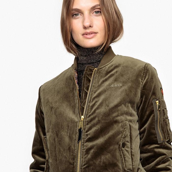 JKT AC W Velvet Bomber Jacket  SCHOTT image 0