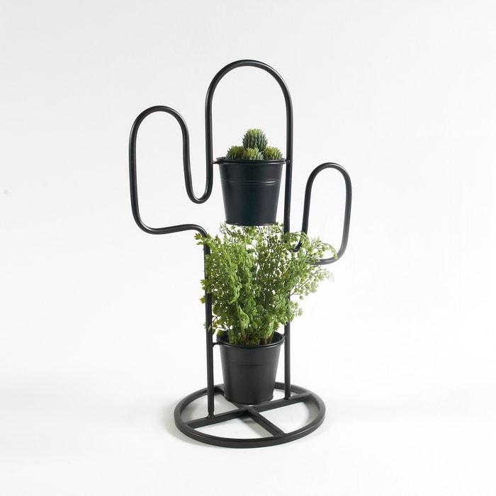 cache pot cactus en m tal tuscaliro la redoute interieurs. Black Bedroom Furniture Sets. Home Design Ideas