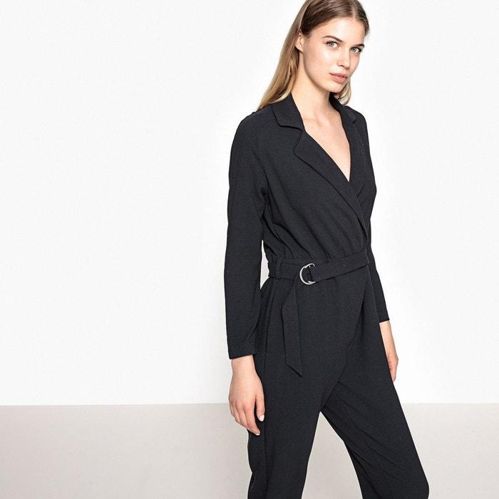 combinaison uni gris anthracite pepe jeans la redoute. Black Bedroom Furniture Sets. Home Design Ideas