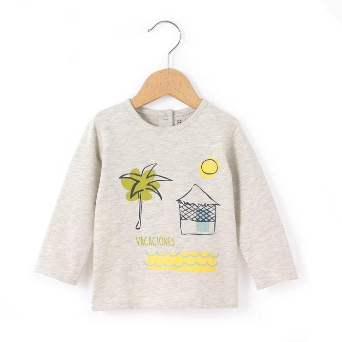 afbeelding T-shirt met lange mouwen La Redoute Collections