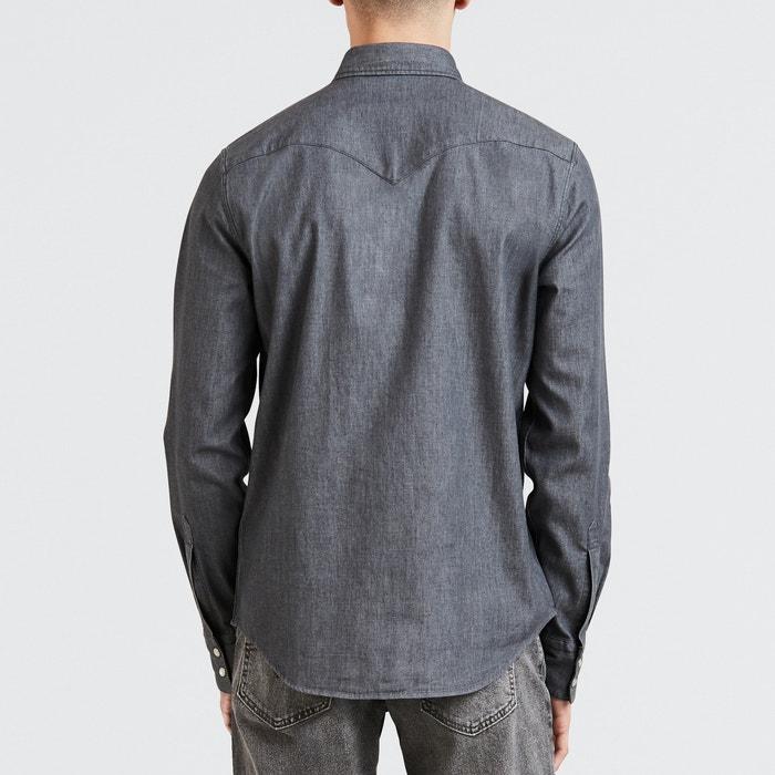 de recta manga LEVI'S larga Camisa EBnqngxZH