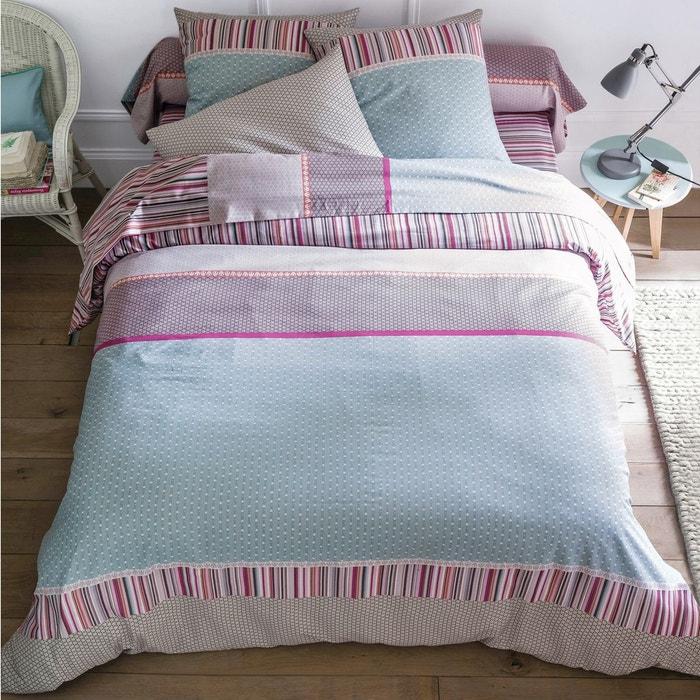 housse couette la redoute draphousse imprim en percale de coton digna la redoute interieurs. Black Bedroom Furniture Sets. Home Design Ideas