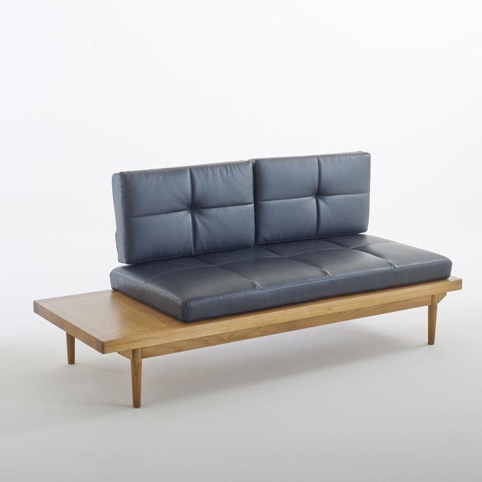 Sof cama quilda preto la redoute interieurs la redoute for La redoute fundas sofa