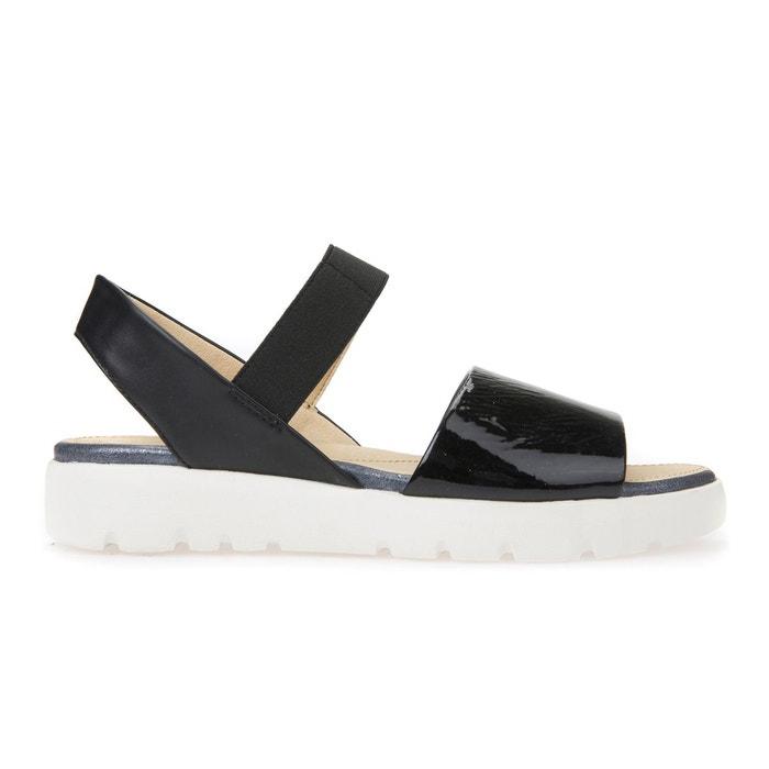 Sandales d amalitha f  noir Geox  La Redoute