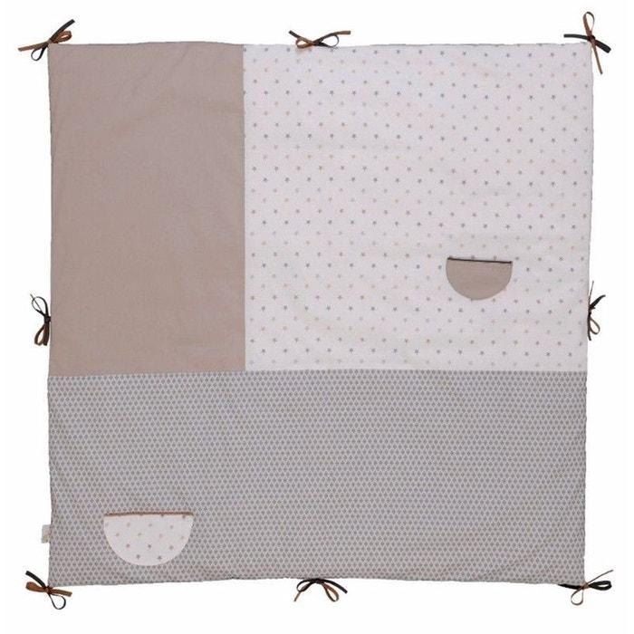 tapis d 39 veil fond de parc 100x100 cm little sweet dreams ptit basile hacot et colombier la. Black Bedroom Furniture Sets. Home Design Ideas