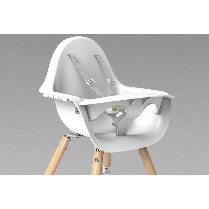 chaise haute bébé design évolutive bois childwood | la redoute