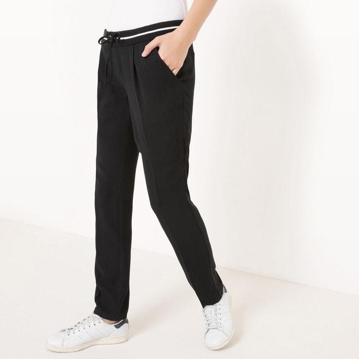 Pantalon basique, slim, cigarette, uni La Redoute Collections