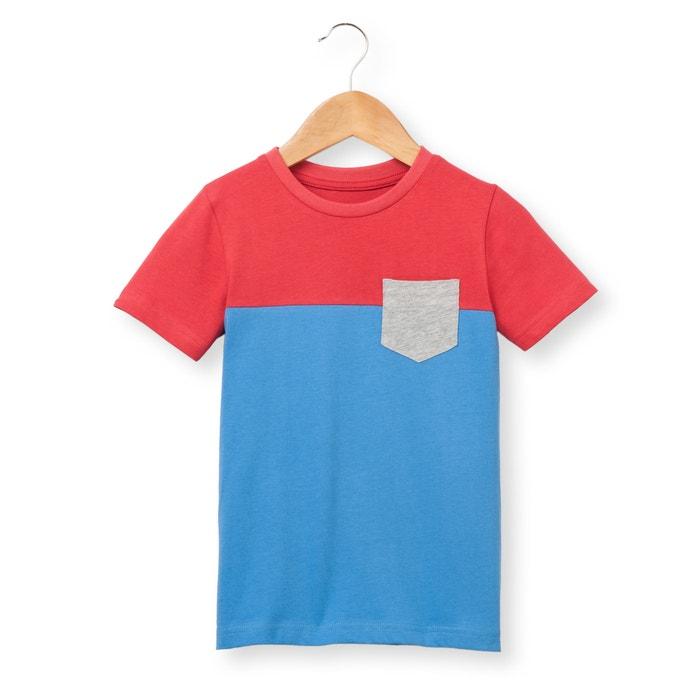 Camiseta bicolor 3-12 años  La Redoute Collections image 0