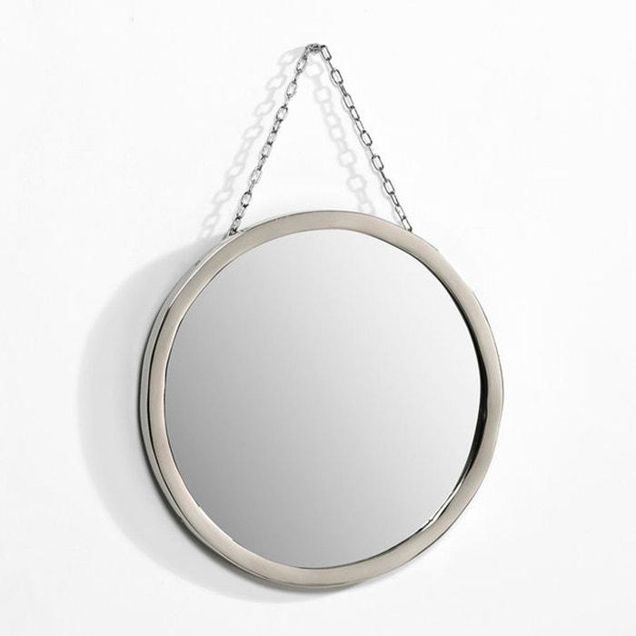 Miroir barbier rond 30 cm sans coloris am pm la redoute for Miroir rond sans cadre