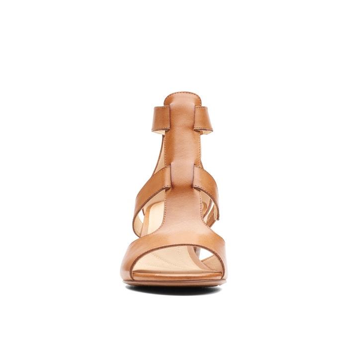 c5c4f3338e Deloria fae leather sandals , tan, Clarks | La Redoute