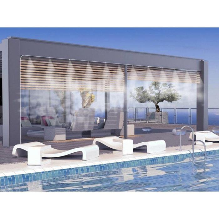 brumisateur de terrasse 12 buses 15 m couleur unique o fresh la redoute. Black Bedroom Furniture Sets. Home Design Ideas