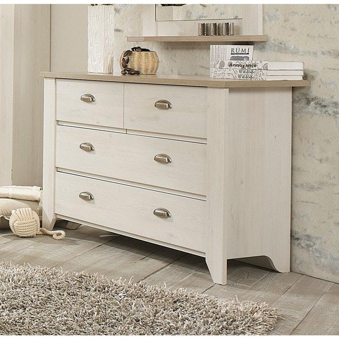 commode bois blanchi maison design. Black Bedroom Furniture Sets. Home Design Ideas