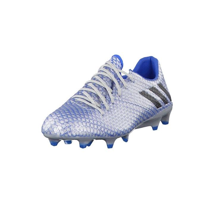 Chaussure messi 16.1 terrain souple argent bleu Adidas Performance   La  Redoute 42c6aad3b1c9