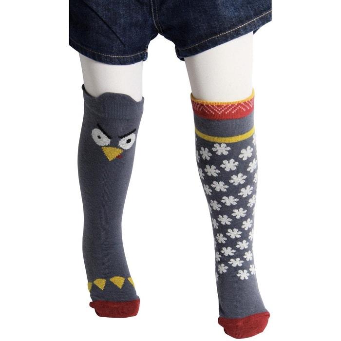 chaussettes hautes pingouin gris despasray s la redoute. Black Bedroom Furniture Sets. Home Design Ideas