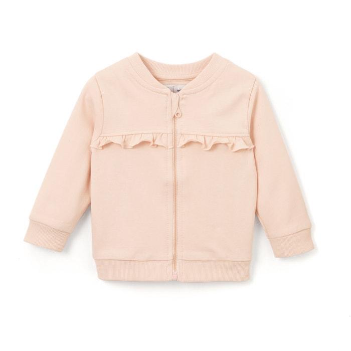 afbeelding Sweater met rits 1 mnd - 3 jaar Oeko Tex La Redoute Collections