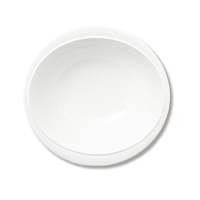assiette creuse en porcelaine 19cm lot de 6 vario blanc bruno evrard la redoute. Black Bedroom Furniture Sets. Home Design Ideas
