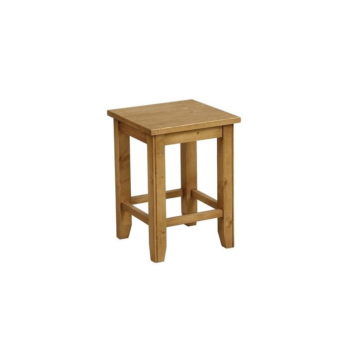 tabouret assise bois interior s la redoute. Black Bedroom Furniture Sets. Home Design Ideas