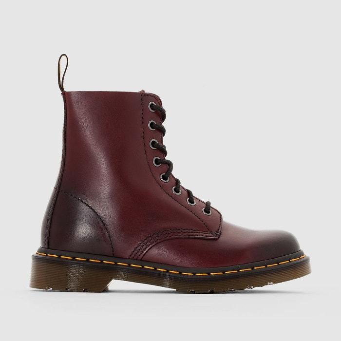 2d600831c2d Boots cuir à lacets pascal bordeaux Dr Martens