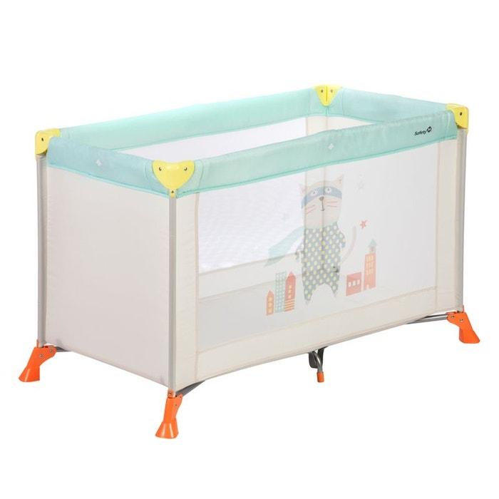 lit parapluie safety 1st 39 soft dreams 39 jaune bleu safety first la redoute. Black Bedroom Furniture Sets. Home Design Ideas