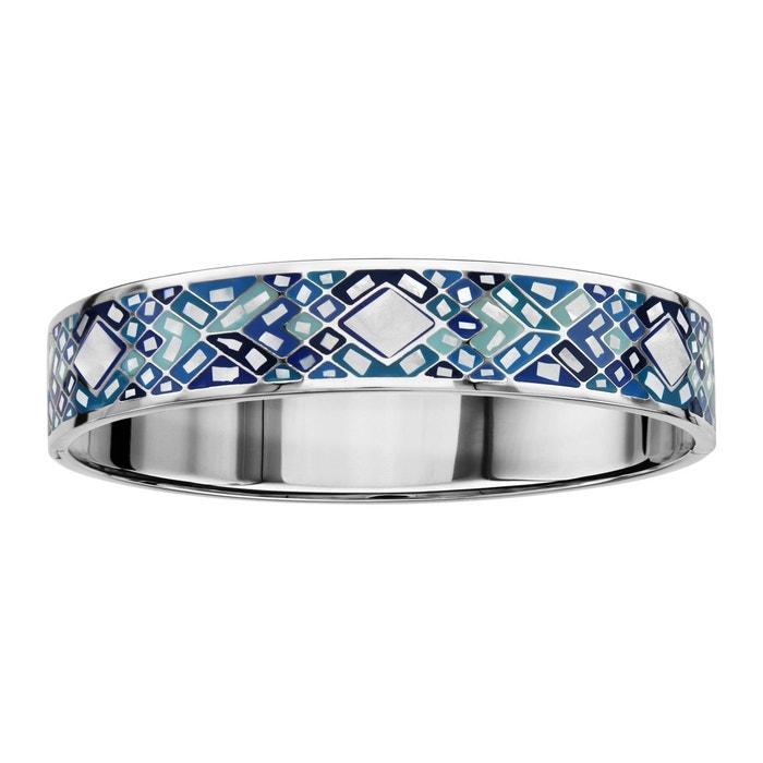 Bracelet articulé couleur bleu ciel nacre blanche acier inoxydable couleur unique So Chic Bijoux | La Redoute Livraison Gratuite Eastbay 5WQS4xuJYW