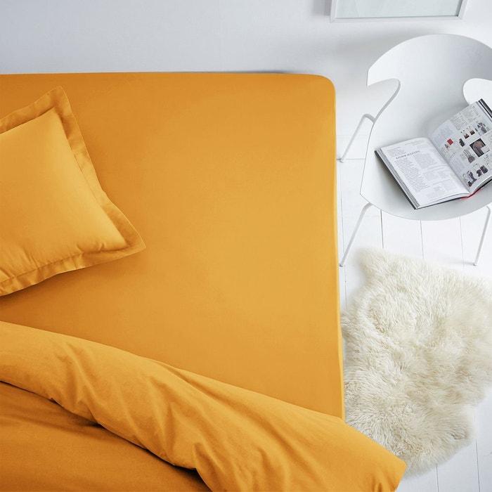 drap-housse coton pour matelas standard scenario   la redoute