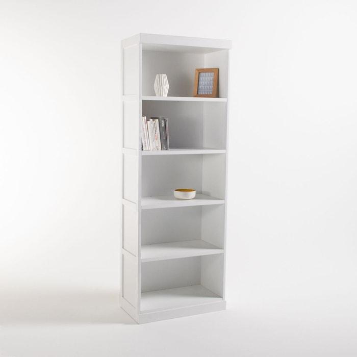 Biblioth que 5 niches inqaluit blanc la redoute interieurs la redoute - La redoute bibliotheque ...
