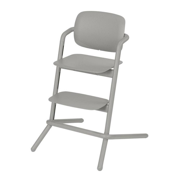chaise haute plastique lemo storm grey grey cybex la redoute. Black Bedroom Furniture Sets. Home Design Ideas