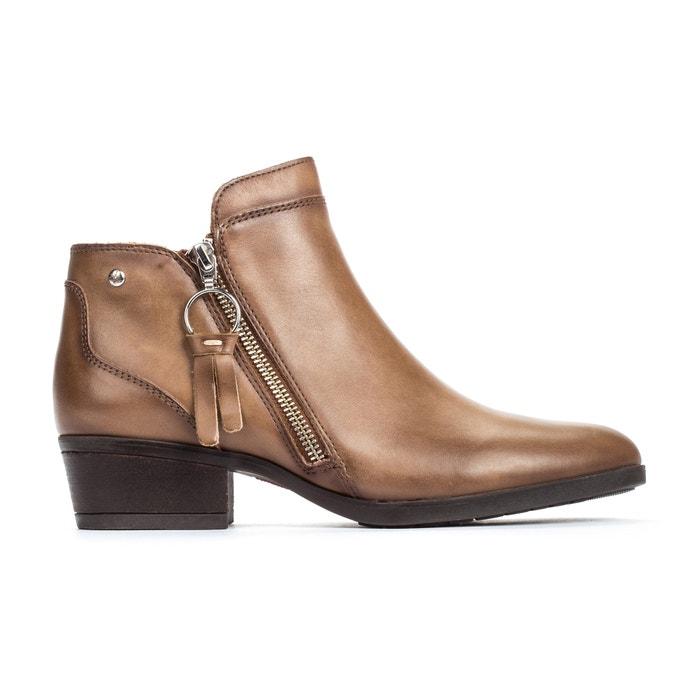 Boots pelle DAROCA W1U  PIKOLINOS image 0