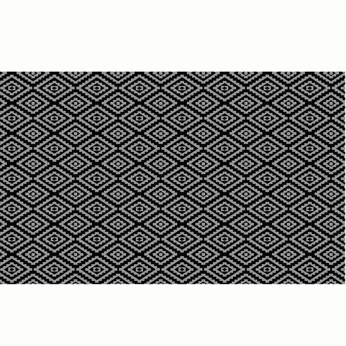 Tapis d'extérieur Noir en Polypropylène 160 x 260 cm  STOREX image 0