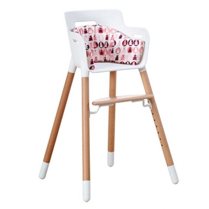 coussin pour chaise haute flexa baby no name la redoute. Black Bedroom Furniture Sets. Home Design Ideas