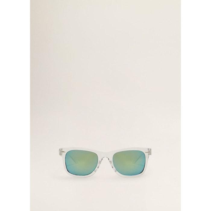 fac3fbe7237a2 Lunettes de soleil monture transparente gris glacé Mango Kids