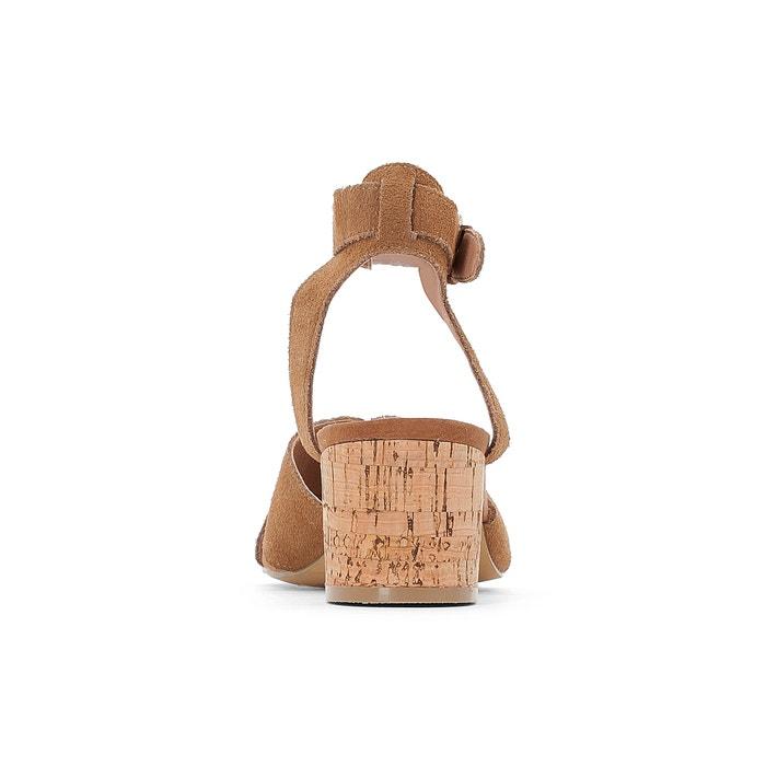 Sandalias con piel corcho de CASTALUNA 243;n tac vuelta de zIwPPqd