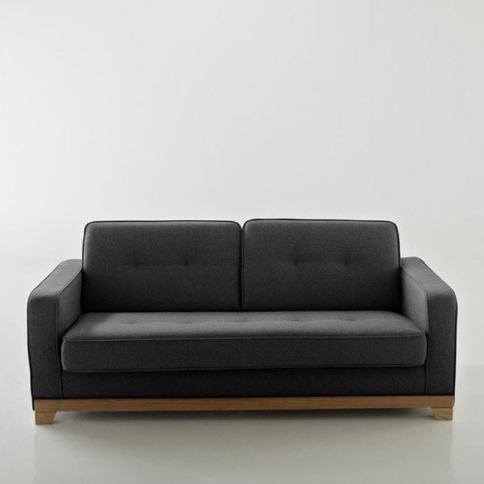 afbeelding Omvormbare canapé, halfgevlochten katoen, Uitstekend comfort, Bultex, Ajis La Redoute Interieurs